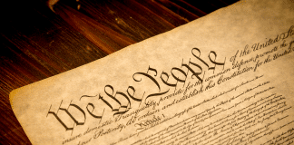We The People Flag Constitution