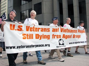 Veterans for Peace Agent Orange Protest