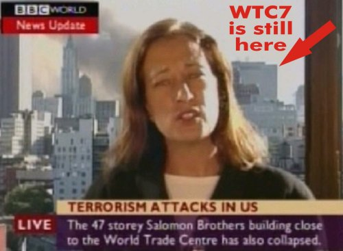 BBC REPORTS WTC 7 DOWN WHEN STILL STANDING