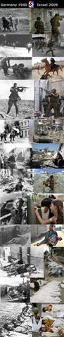 Holocaust:  Germany 1940 vs. Israel 2009  no. 3