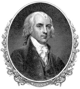 4th President of the United States - James Madison