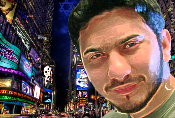 Times Square Bomber Face