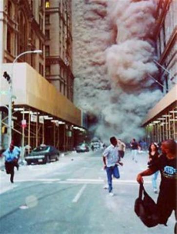 Manhattan 9/11 WTC Dust NYTimes Running
