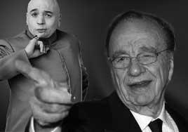 Rupert Murdoch and Dr. Evil