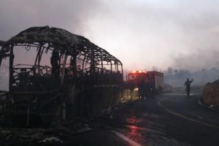 Mt Carmel Fire Worst ever Disaster Yessir Kaminsky AP