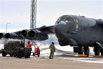 """Minot Air Force Base"""
