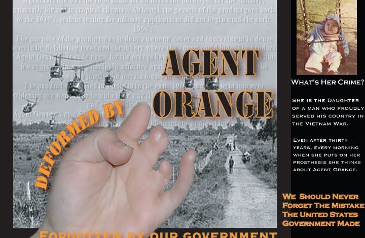 The generational effect of Agent Orange