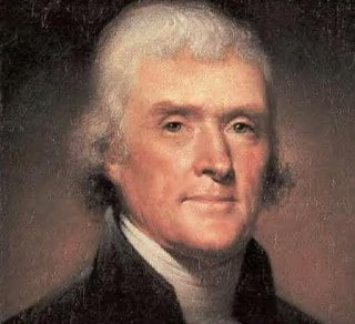 """Thomas Jefferson"""
