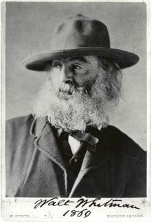 """""""Walt Whitman - 1869"""""""