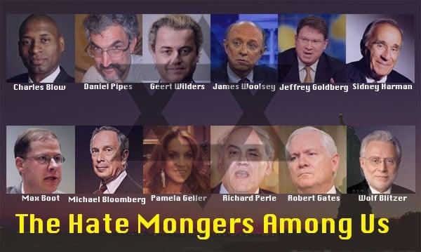 The Hate Mongers Among Us