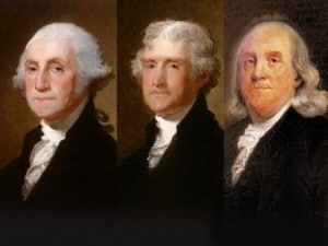 Three Deist Founding Fathers