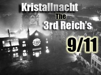 Crystal Night 1938 – Third Reich's 9/11?