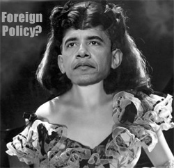 Scarlett O'Bama: Foreign policy?  I'll worry about that tomorrow...