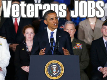 Obama Makes Committment to Employ US Veterans