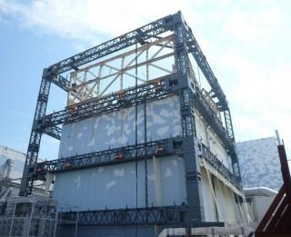 "Brutally strong external ""tent"" skeleton for Rad spewing reactors at Fukushima"
