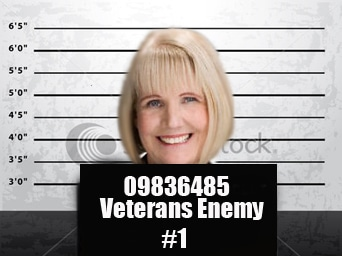 """Homeless Vets:  Donna Beiter's """"One Woman War"""" Against Vets"""