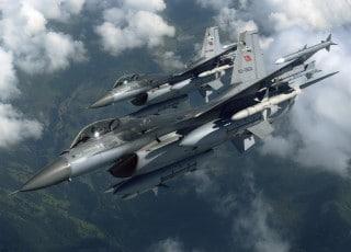Turkey's F-16s