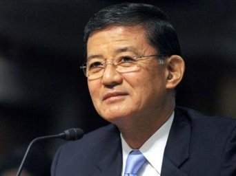 General Eric K. Shinseki is the disgraced and defiant Secretary of the VA who refuses to resign