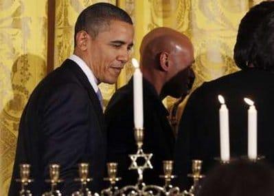 obama hanukkah menorah white house
