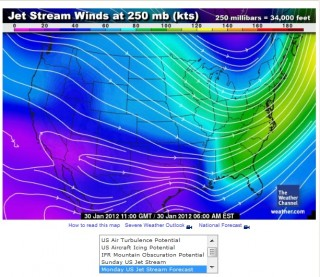 Jet Stream Winds push Radiation to Downtown Chicago The Weather Channel