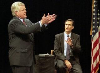 Ted Kennedy - Mitt Romney Senate Race - 1994