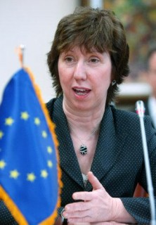 From the upper chamber, Baroness Catherine Ashton