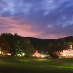 Berkshire School at dusk