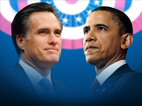Who is the real Romney and was Obama's mind somewhere else?