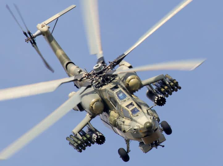 Russian Iraq Attack Helicopter Mi-28NE