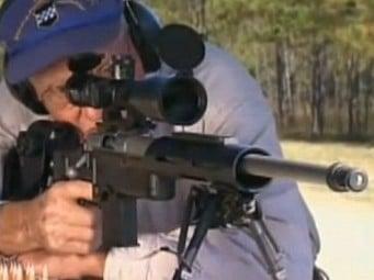Ted Gundy Gets Three Head Shots at a 1000 yards