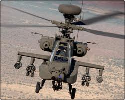 US Apache Longbow Attack Helicopter AH64-D