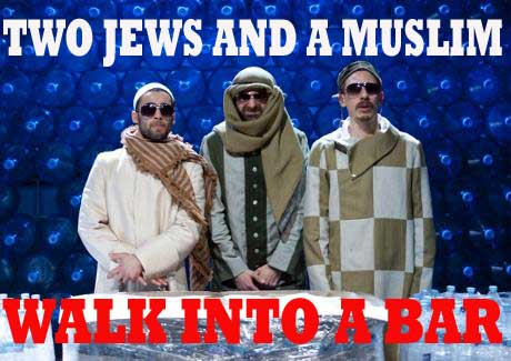 A real Jew, a Zionist, and a truth jihadi walk into a bar
