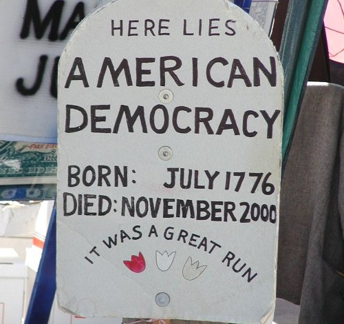 Black Tuesday: Mourning the death of American democracy