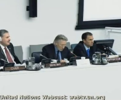 Roger Waters Speaks at the UN (video/music)