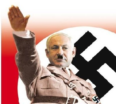 Are Israel's Jews, some of them, on their way to becoming Nazis?