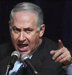 netanyahu angry