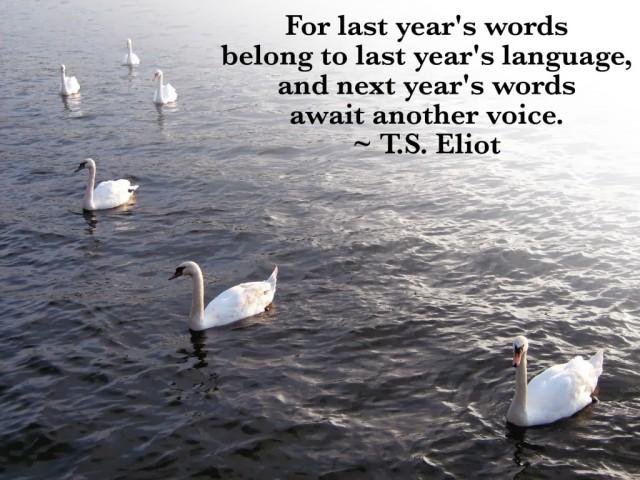 T.S. Eliot quote