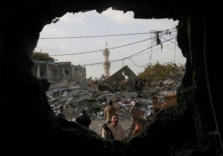 Gaza from within the Garrison State