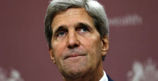 What does Kerry think he is doing with his Iran threats at this stage?