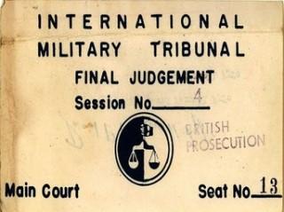 Nuremberg Ticket