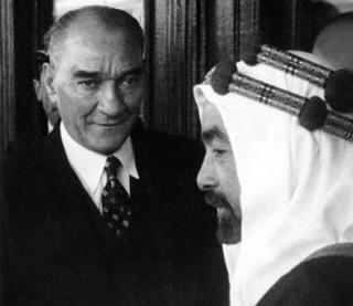 Kemal with King Abdullah of Jordan