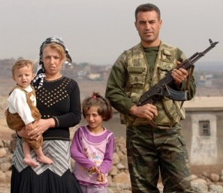 Families living on the brink of war