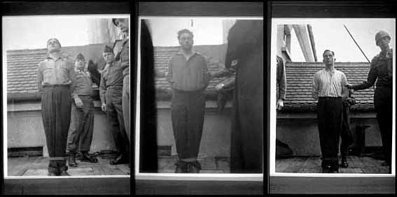 Post WWII - Camp Guard executions