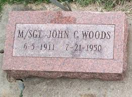 Master Sergeant John C. Woods