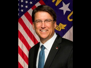 Governor Pat McCrory, the butt guy