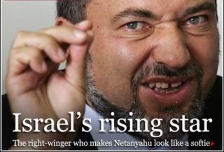 Lieberman represent the ultra-nationalist Russian pretend-a-Jews