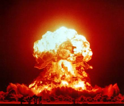 Bravo nuclear explosion / Project 4.1 / March 1st, 1954