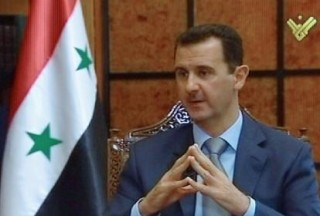 Why does the West still want Assad out now and risk a worse situation>