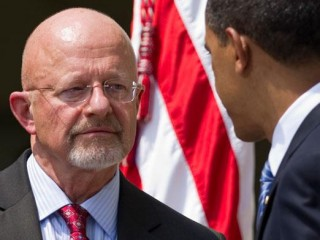 Who are people like Clapper serving while they are in top government positions?