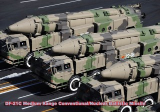 Chinese - DF-21 missiles